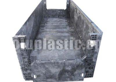 Contenedor Plástico 128″ x 48″ x 34″