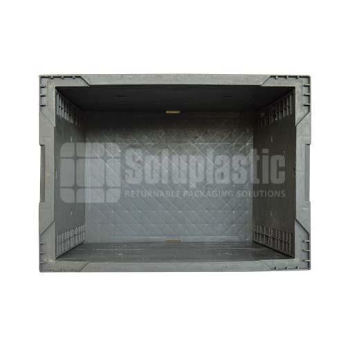 totes plásticos caja industrial para carga y transporte de mercancia con seguridad, resistencia en mexico seminuevas retornables 15x11x13