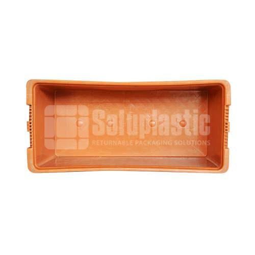 totes plásticos caja industrial para carga y transporte de mercancia con seguridad, resistencia en mexico seminuevas retornables 24x11x09
