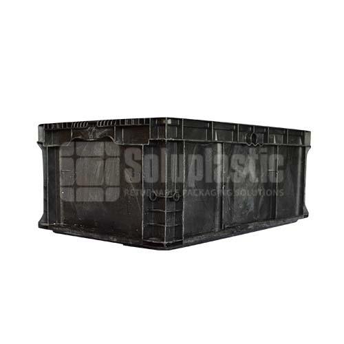 totes plásticos caja industrial para carga y transporte de mercancia con seguridad, resistencia en mexico seminuevas retornables 24x15x09