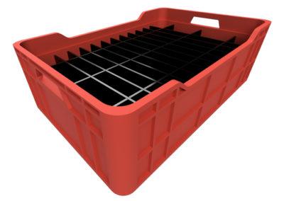 Dunnage, Divisiones o Particiones para Cajas Plásticas Industriales