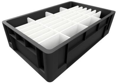 Dunnage (Divisiones) para Cajas y Totes Plásticos Industriales
